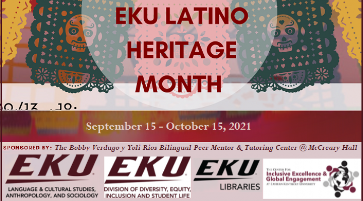Latino Heritage Month 2021 - Sept. 15-October 15