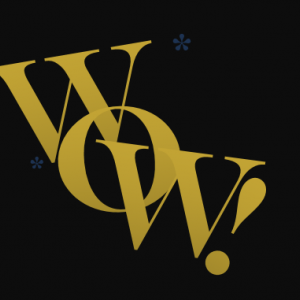 image of the word WoW